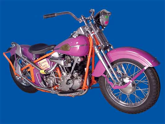 1941 Knucklehead Bobber Bike Kit Chrome
