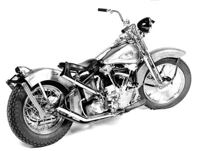 Replica 1941 Knucklehead Bike Kit Restoration Finish