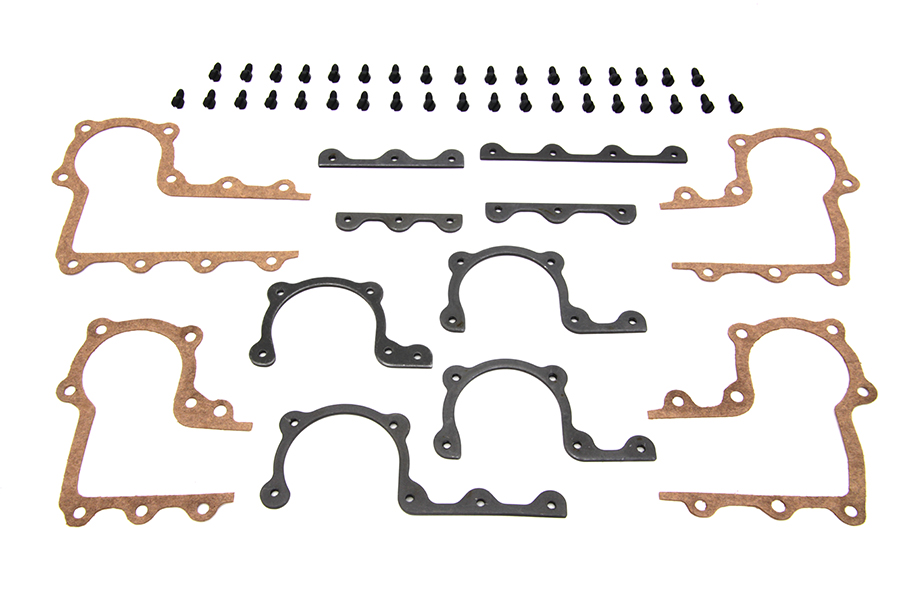 Parkerized Rocker Arm Cover Strip and Gasket