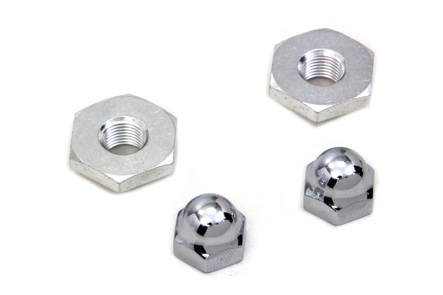 Cadmium Acorn Nut and Retainer Kit