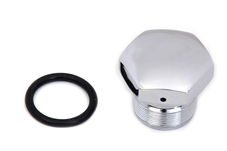 Chrome Fork Tube Cap