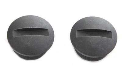 Black Oxide Spring Handlebar End Nut