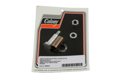 Cadmium Tank Hand Shifter Lever Stud and Bushing Kit