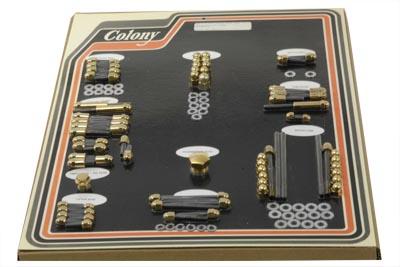 Gold Engine Dress Up Acorn Bolt Kit