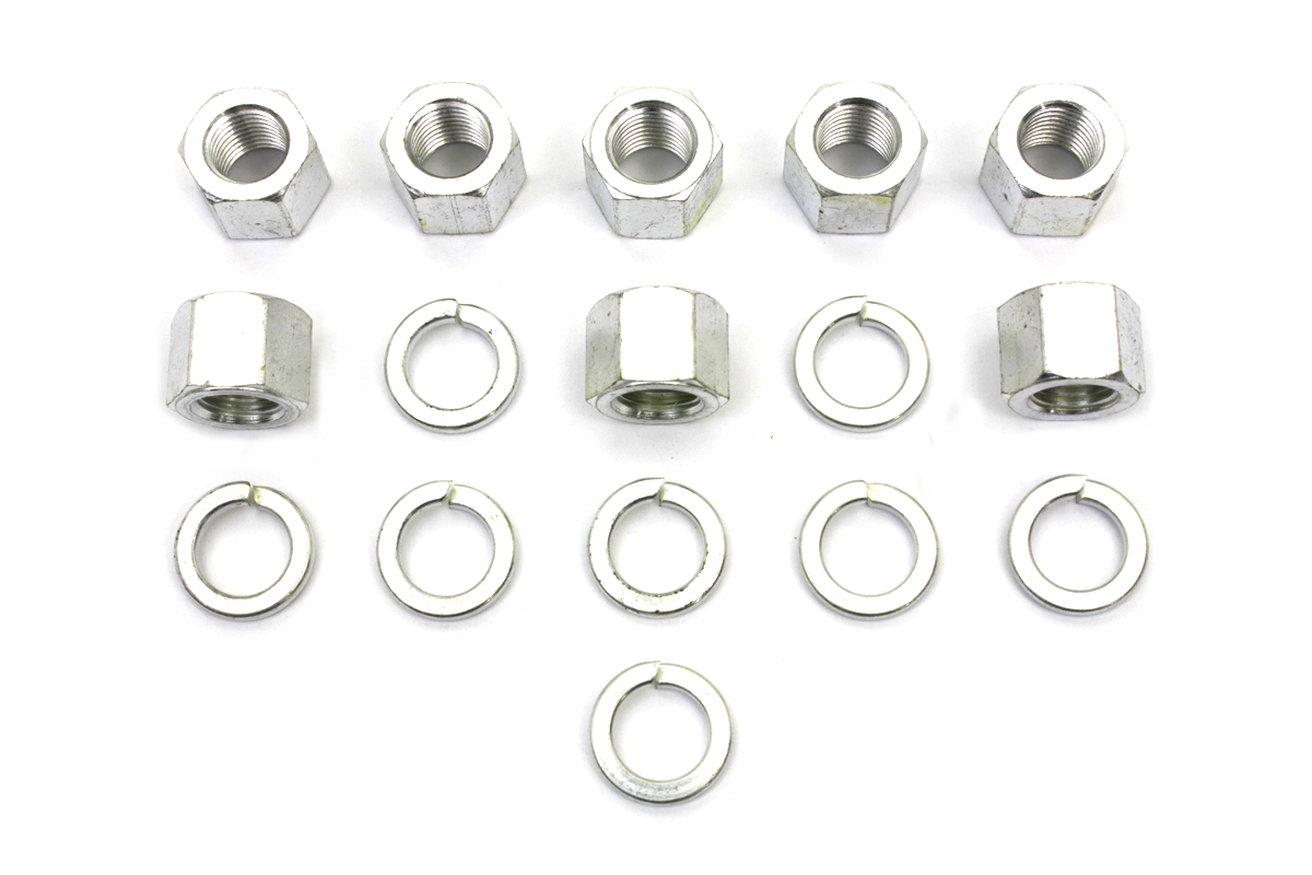 Cadmium Cylinder Base Nuts and Washers