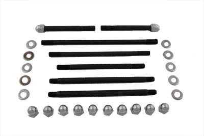 Chrome Motor Case Bolt Kit Acorn