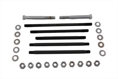 Chrome Motor Case Bolt Kit Stock