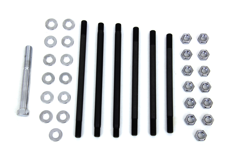 Chrome Stock Engine Case Bolt Kit
