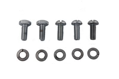 Chrome Circuit Breaker Screws