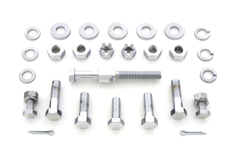Chrome Transmission Mount Kit
