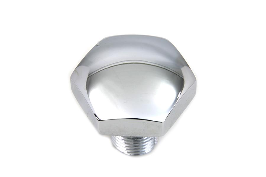 Chrome Dome Shape Top Fork Tube Bolt