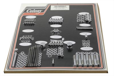 Chrome Stock Style Hardware Kit