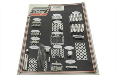 Cadmium Stock Style Hardware Kit for Cast Iron Heads