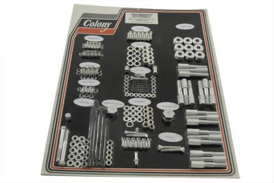 Cadmium Stock Style Hardware Kit for Aluminum Heads