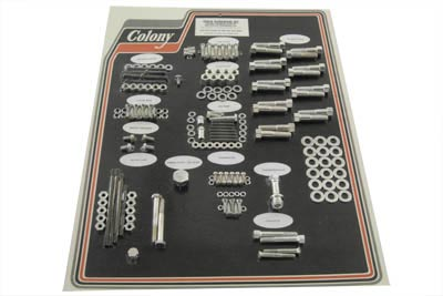 Cadmium Stock Style Hardware Kit