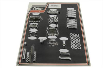 Chrome Stock Style Hardware Kit for Cast Iron Heads