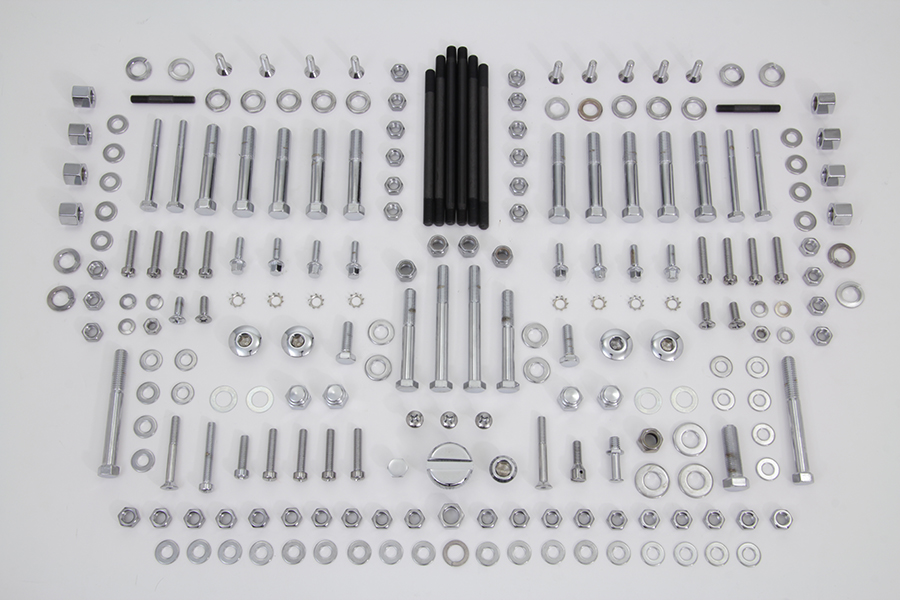*UPDATE Chrome Stock Style Hardware Kit