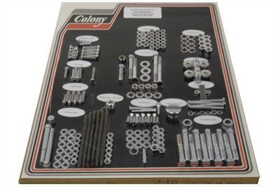 Chrome-Stock-Style-Hardware-Kit-fits-Harley-Davidson-V-Twin-8312-CHR