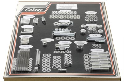 Stock Style Hardware Kit Standard Cadmium
