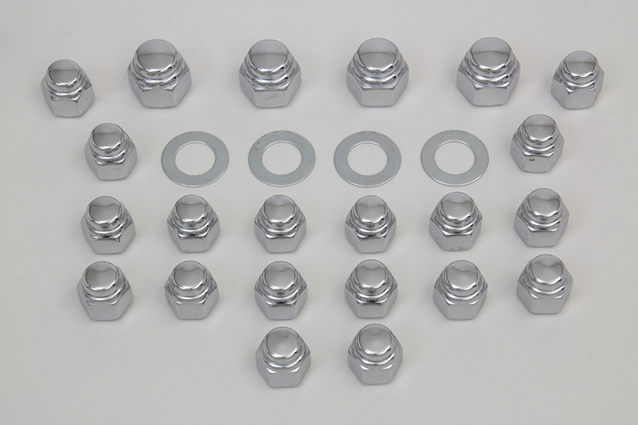 Rocker Box Nut Kit Cap Style