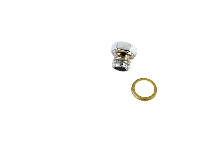 Magnetic Drain Plug with Brass Gasket