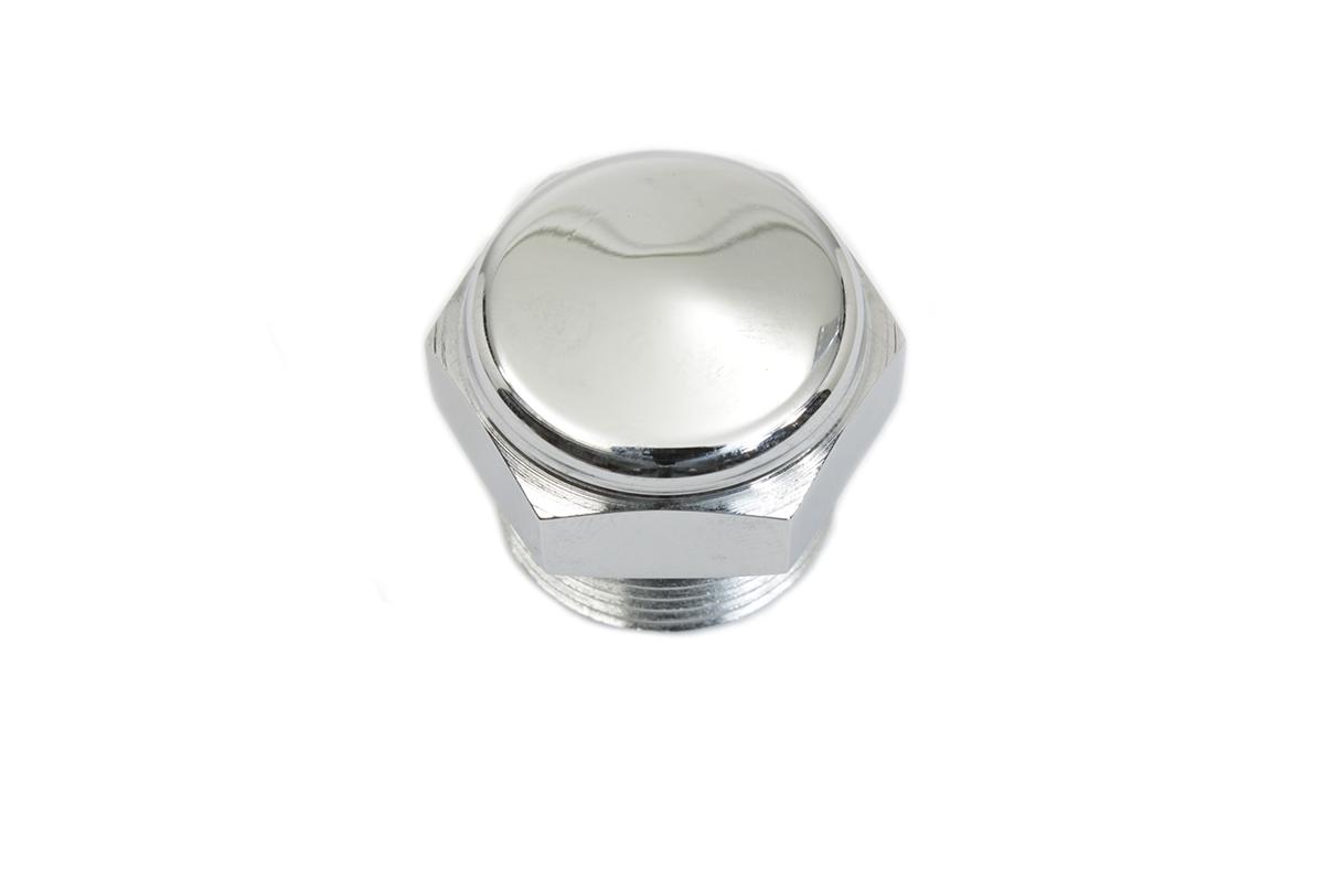 Transmission Plug Cap Chrome