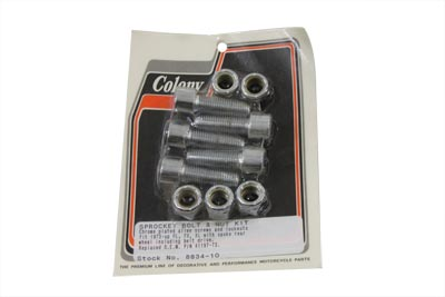 "Sprocket Bolt and Nut 7/16""-20 X 1-1/4"" Allen Style"