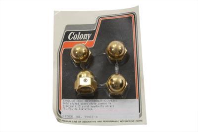*UPDATE Acorn Type Headbolt Cover Gold