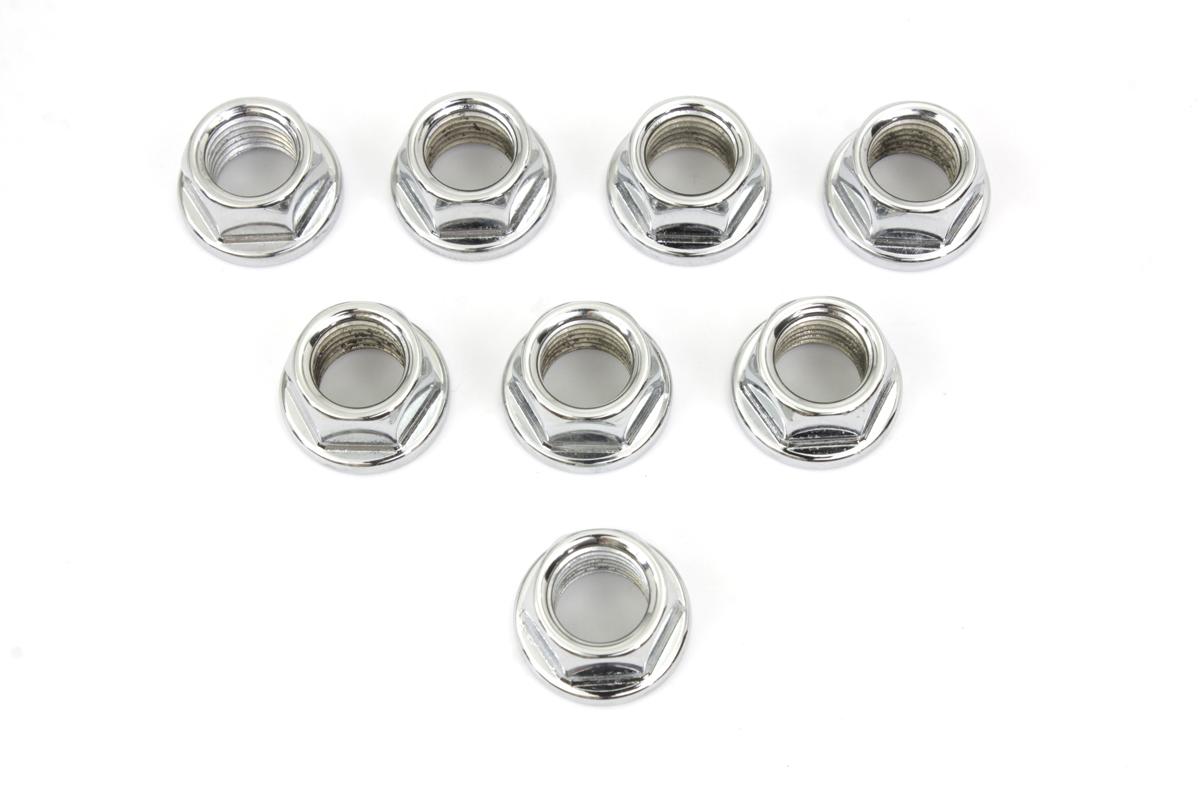 Cylinder Base Nut Chrome