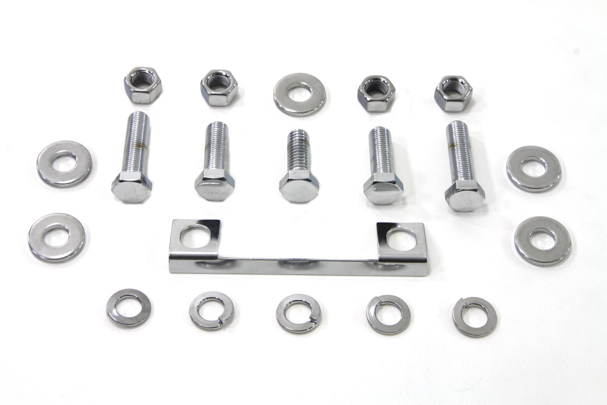 Transmission Mount Kit Chrome