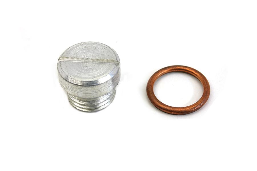 Oil Pump Screen Plug Cadmium