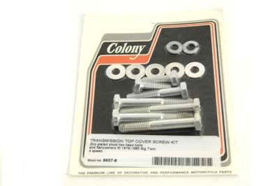 Transmission Top Cover Screw Kit Zinc