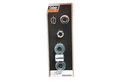 Rear Axle Spacer Kit Chrome