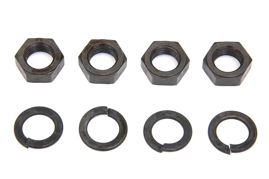 Rocker Arm Shaft Parkerized End Nut Kit