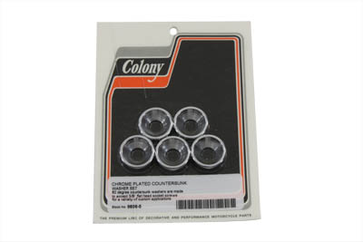 *UPDATE Chrome Countersunk Washer Set 7/16""