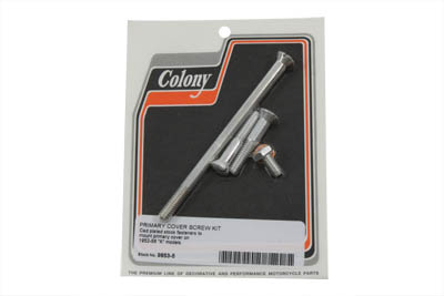 Primary Cover Screw Kit Cadmium
