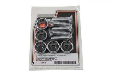 Sprocket Bolt, Nut and Washer Kit