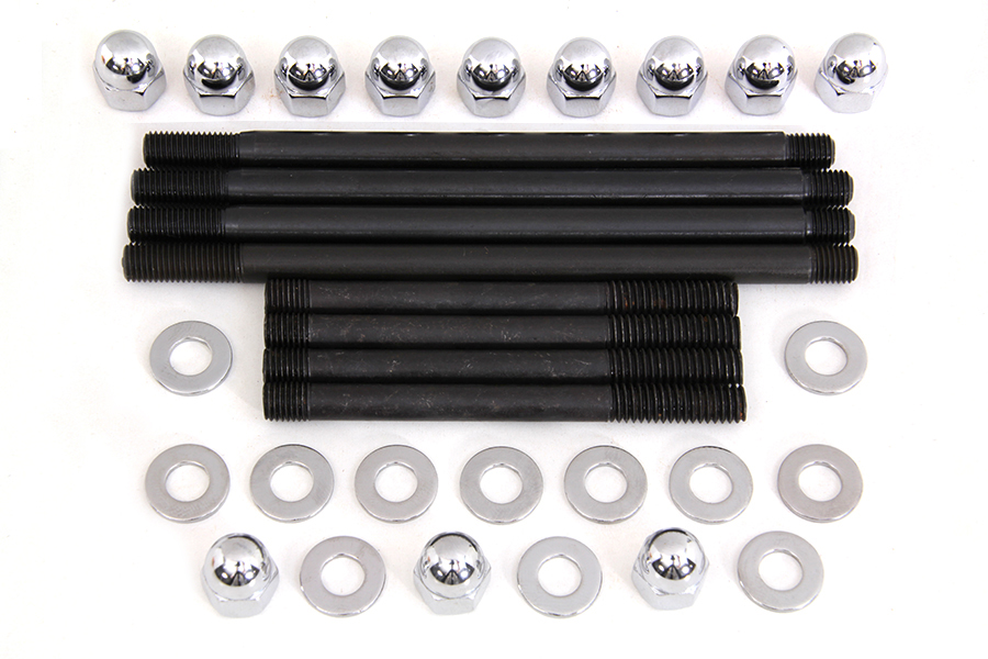 *UPDATE Chrome Engine Case Acorn Bolt Kit